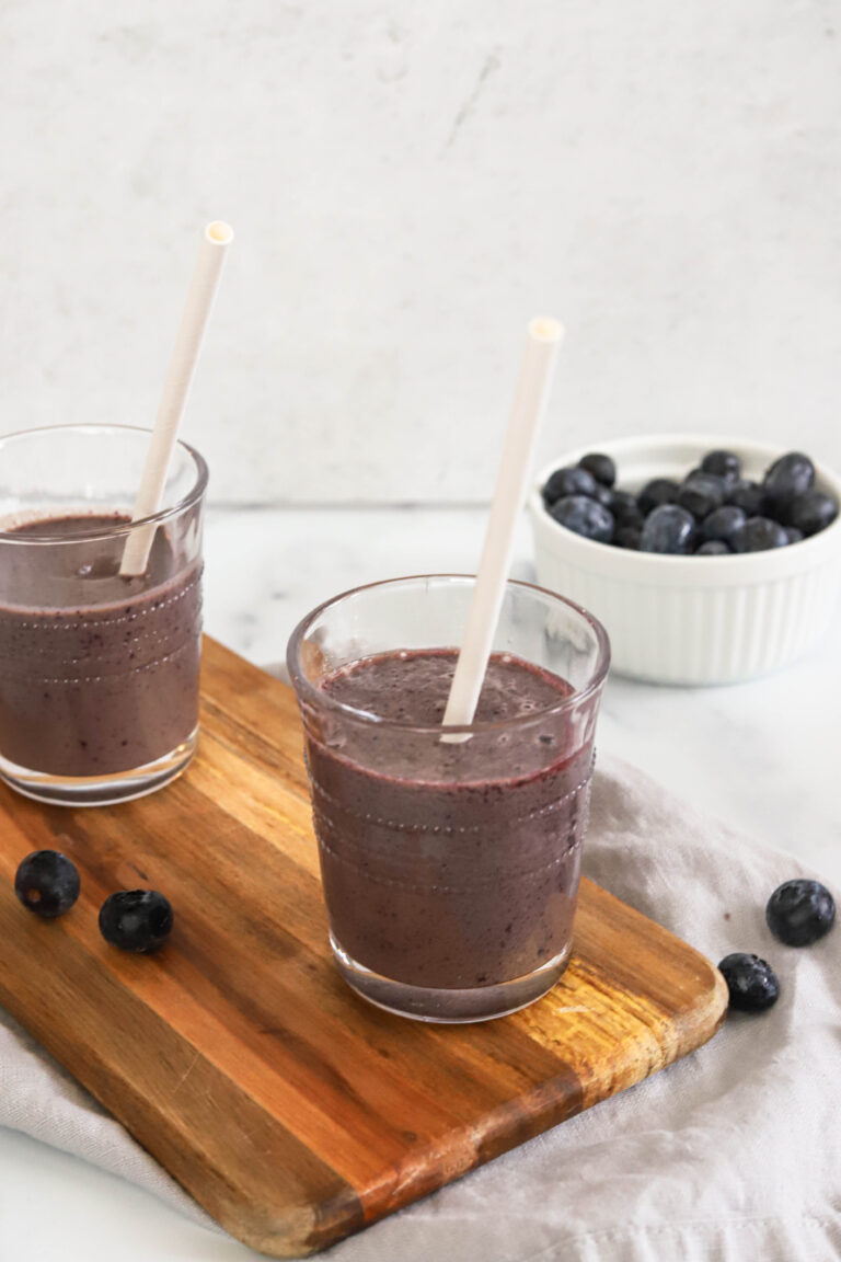 A nutrient dense smoothie that even the kids will love!