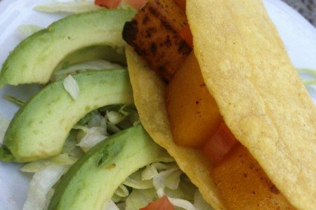 Easy Butternut Squash Tacos