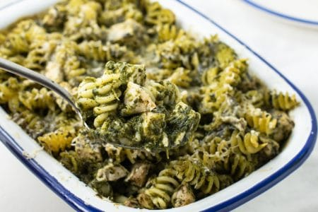 Rich, Creamy, and Healthy Chicken Florentine Casserole