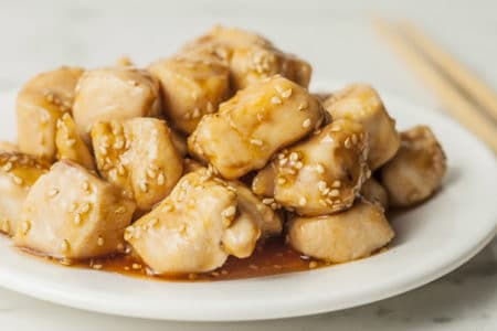 Quick & Easy Sesame Honey Chicken Recipe