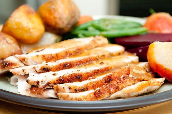 Slow Cooker Herb Crusted Turkey Breast