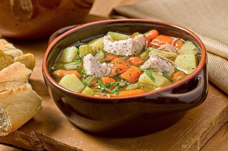 Slow Cooker Turkey Stew