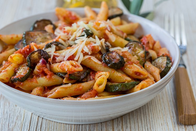 Slow Cooker Zucchini Ziti Recipe2