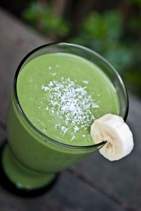Coconut Banana Green Smoothie