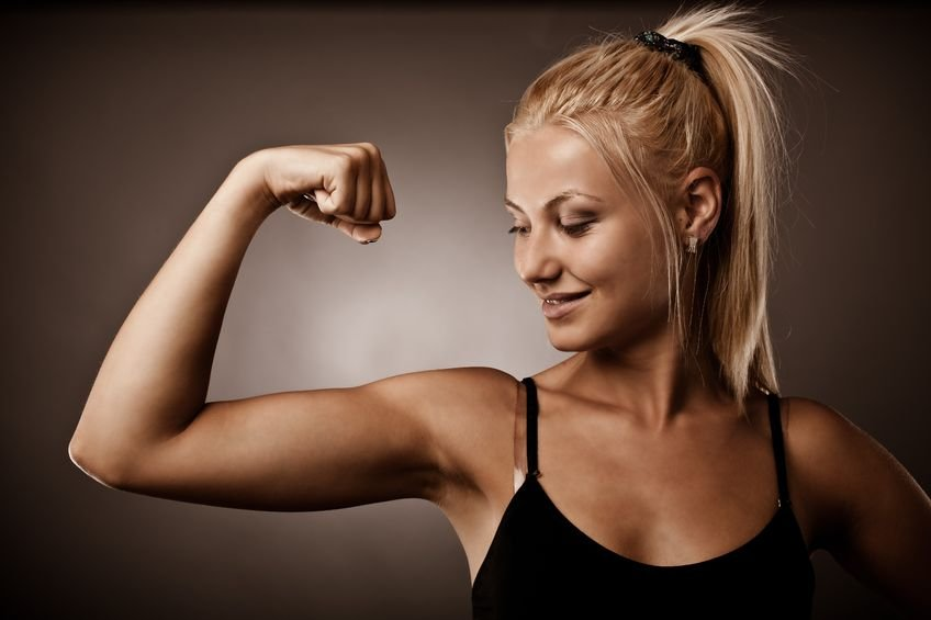 Get into amazing shape from head-to-toe regardless of your fitness    Toned Arms Women Before After