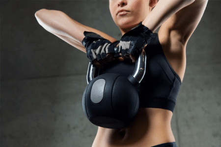 Kettlebell Fat-Burning Workout
