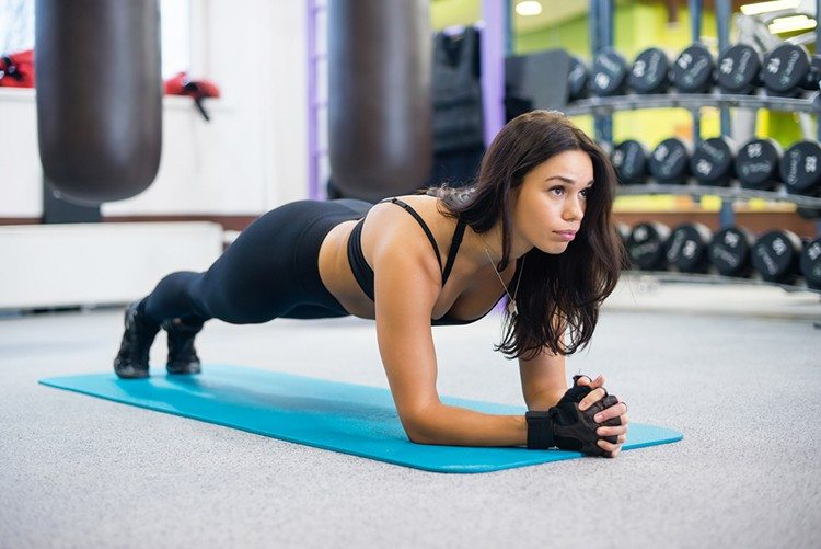 plank for flat abs