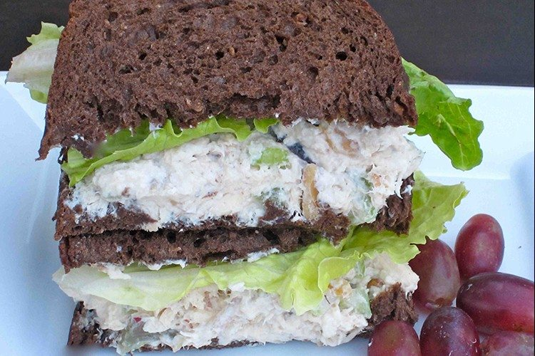 Chicken-Salad-Sandwich-Bok-Choy-Red-Grapes-and-Walnuts-1