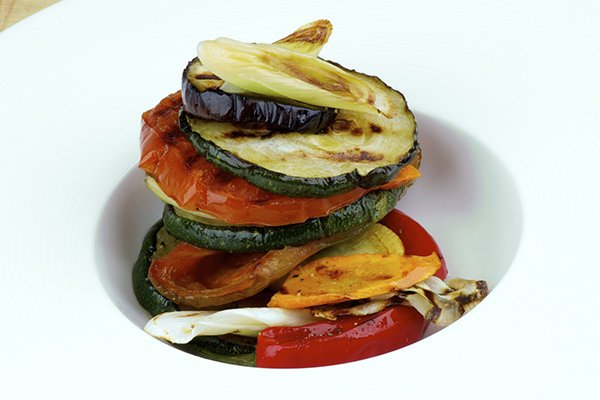 Italian Roasted Vegetables with Summer Basil