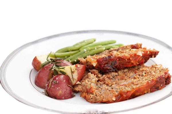 Tuscan Turkey Meatloaf
