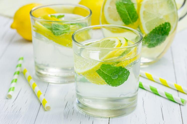 Morning Lemon Amp Mint Detox Water