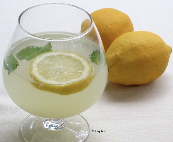 Morning Lemon & Mint Water