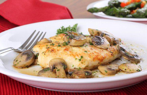 Slow Cooker Chicken and Mushroom Gravy