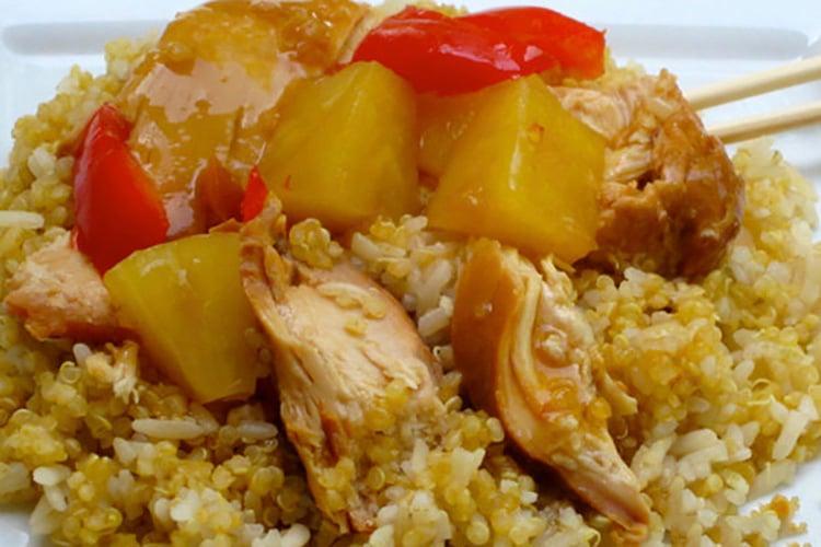 Slow Cooker Polynesian Chicken