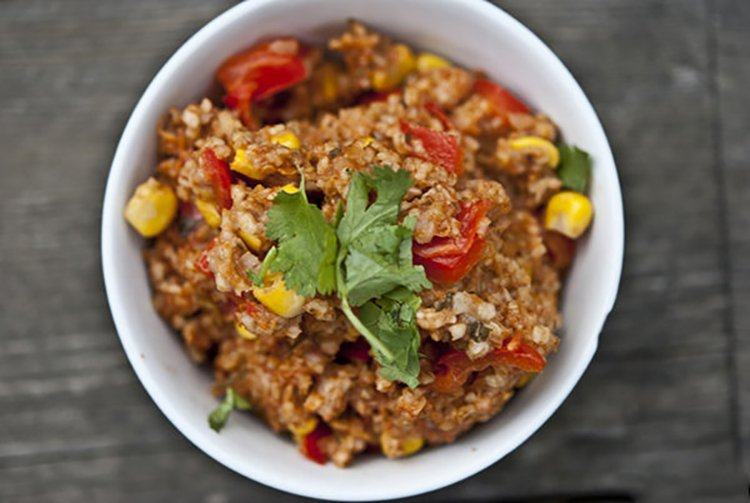 Slow Cooker Savory Mexican Oats