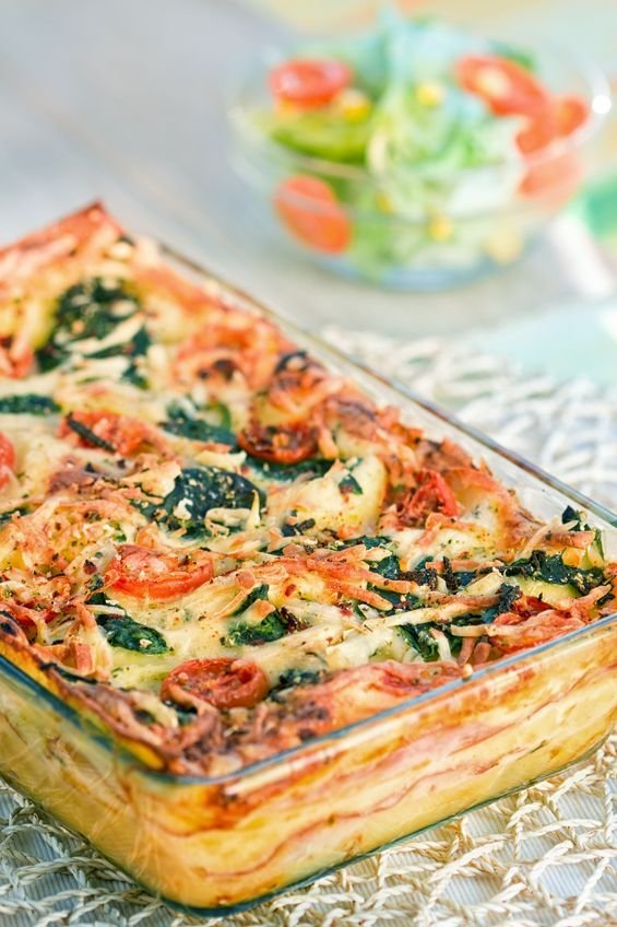 tasty vegetable lasagna now this lasagna is going to