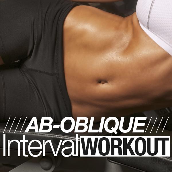 Ab-Oblique Interval Workout