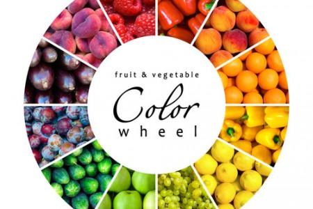 Healthy Food Color Characteristics!