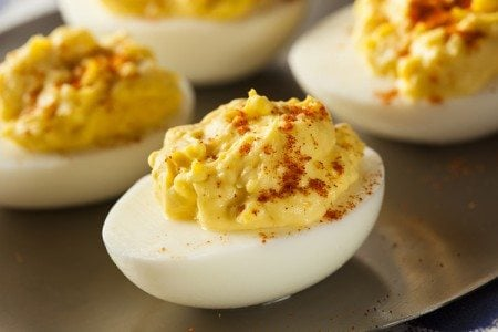 Clean Eating Deviled Eggs