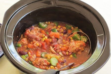Slow Cooker – 13-Bean Burgoo Stew