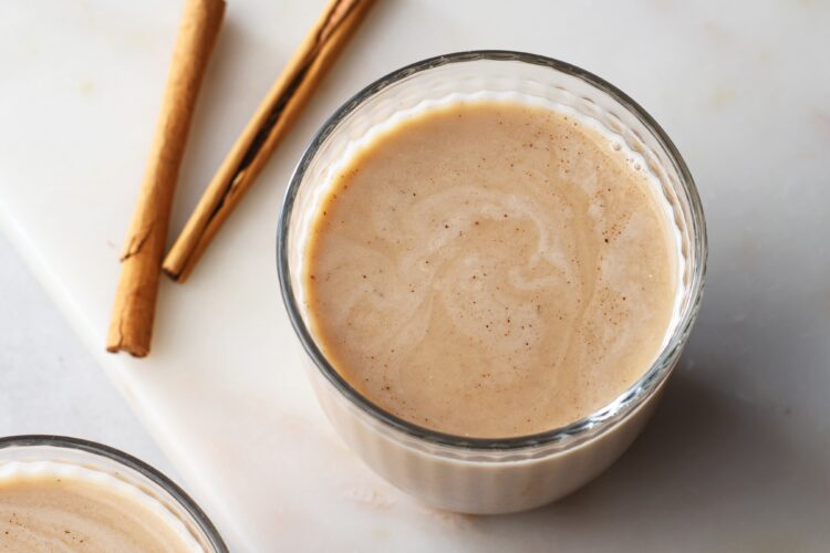 This yummy cinnamon rice milk is full of nutrients!