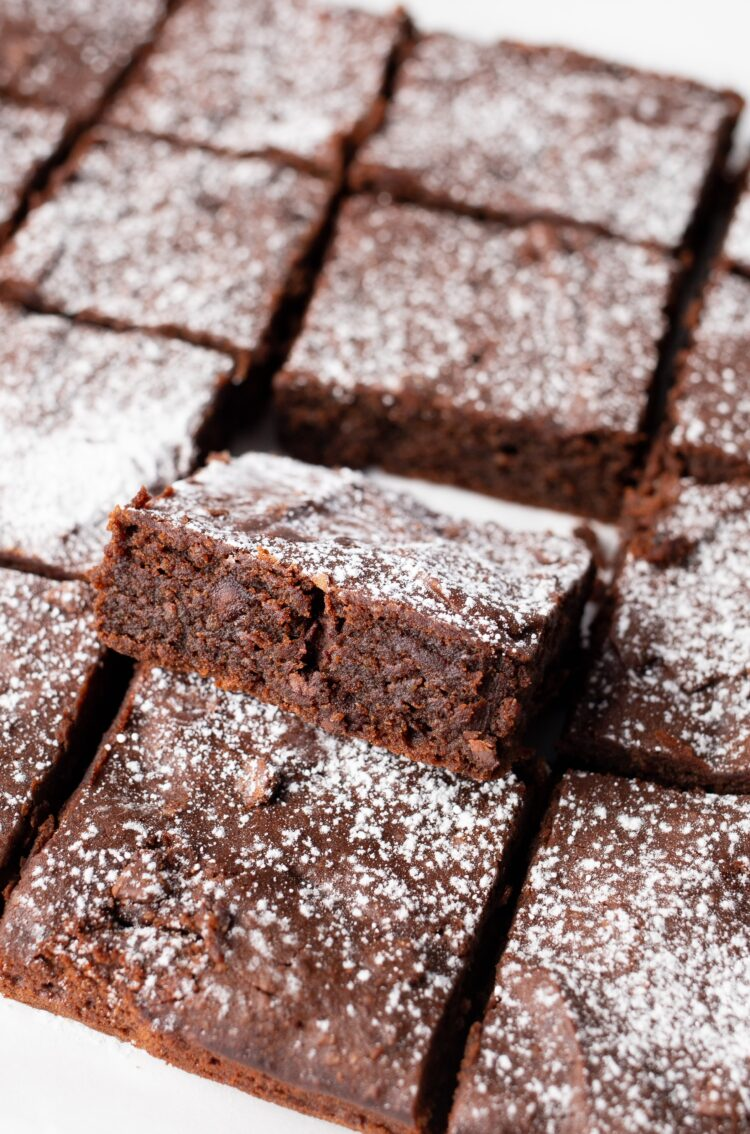 Make these brownies for a crowd or keep them all to yourself for when that sweet tooth strikes!