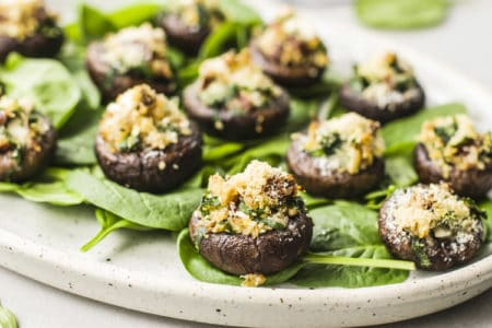 Easy Stuffed Mushrooms Recipe