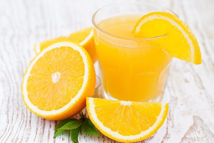 Orange Sports Drink
