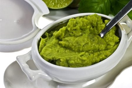 Pea and Avocado Dip