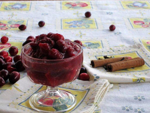 Slow Cooker Cranberry Chutney