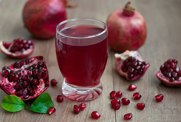 Sparkling Pomegranate Juice