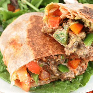 Steak Fajita Sandwiches