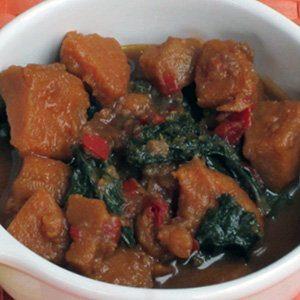 Slow Cooker Sweet Potato and Kale Soup