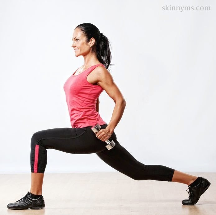 Blast Cellulite With This Skinny Ms. Workout