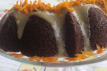 Orange Glazed Carrot Cake