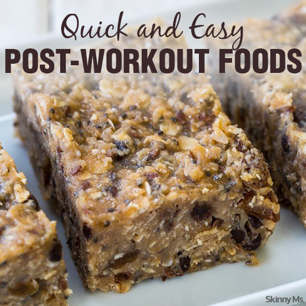 Quick and Easy Post-Workout Foods