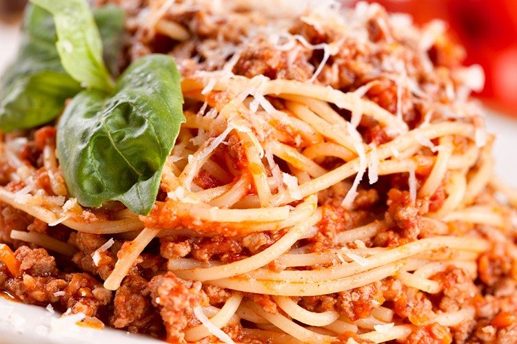 Slow Cooker Cheesy Spaghetti with Homemade Sausage