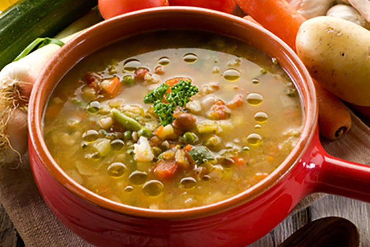 Slow Cooker Lentil & Veggie Stew