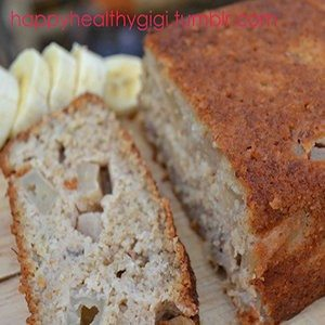 Clean Eating Banana Apple Bread
