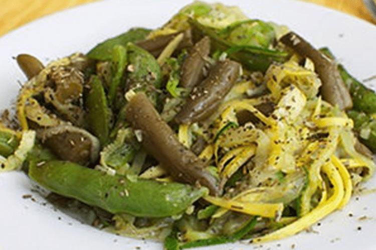 Green Bean and Zucchini Salad