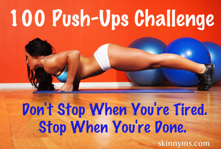 7 Day Push-Up Challenge