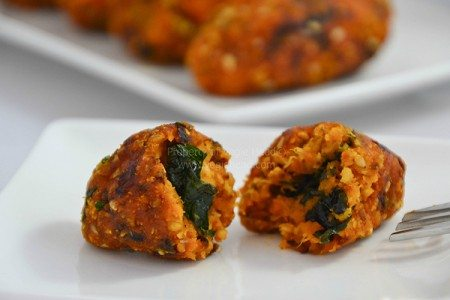 Crispy Kale and Pumpkin Croquettes
