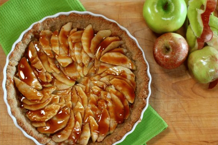 Gluten-Free Dairy-Free Salted Caramel Apple Pie