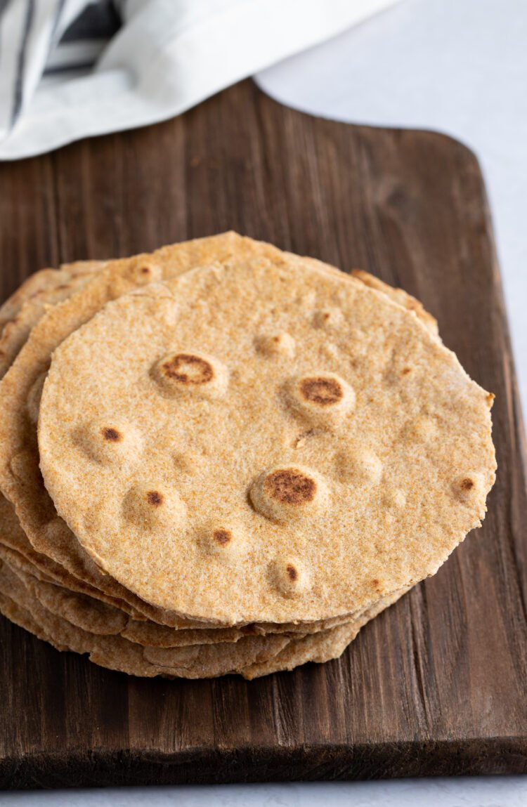 Make your own tortillas at home to save money.