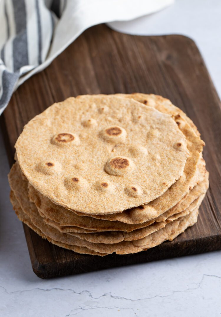 These homemade tortillas can be used in so many different recipes!