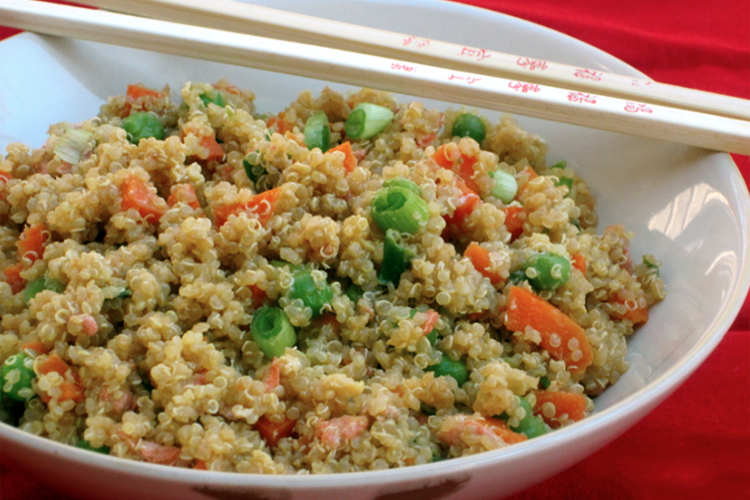Quinoa & Vegetable Stir-Fry
