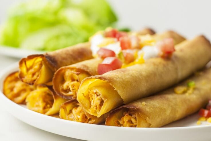 These Skinny Chicken Taquitos Make the Perfect Appetizer!