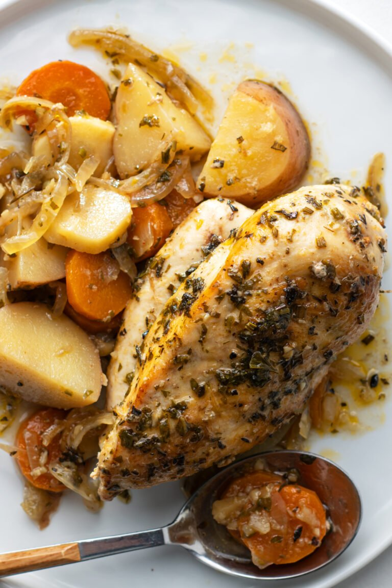 Dig into this yummy chicken dish for a healthy dinner.