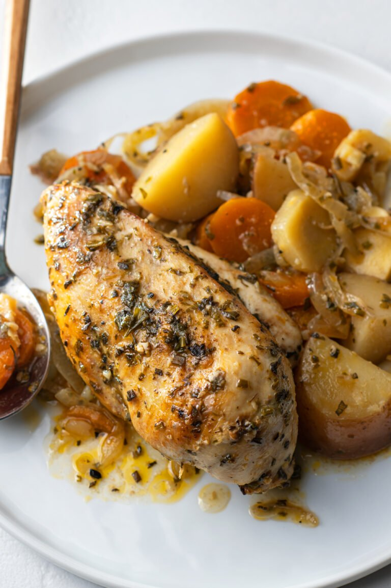 This simple slow cooker meal is perfect for busy weeknights.