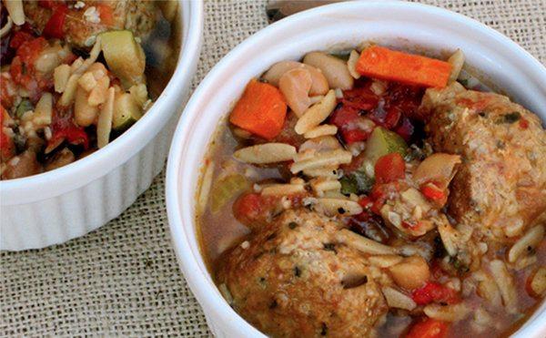 Slow Cooker Italian Meatball Stew